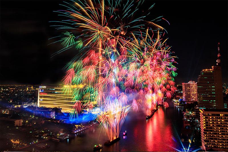 泰國新年跨年倒數