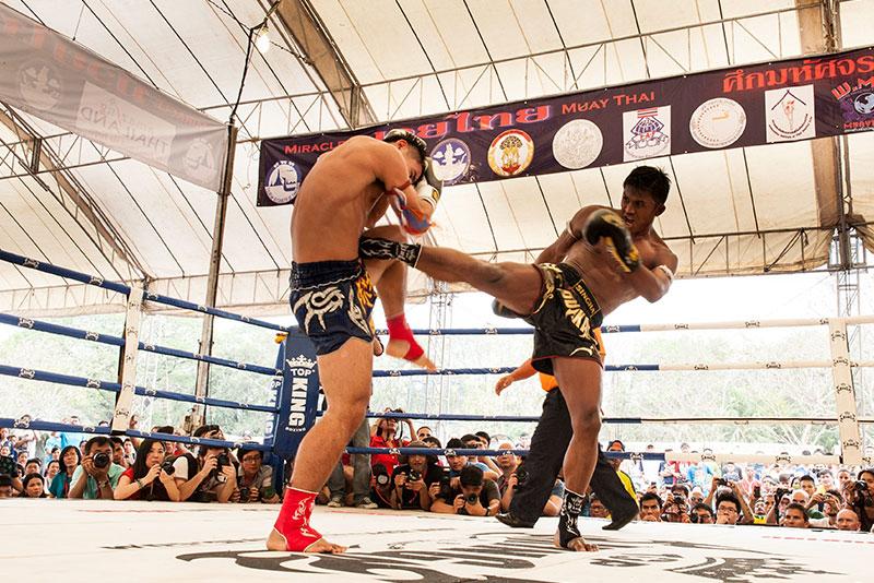 泰國武術節和泰拳拜師舞儀式