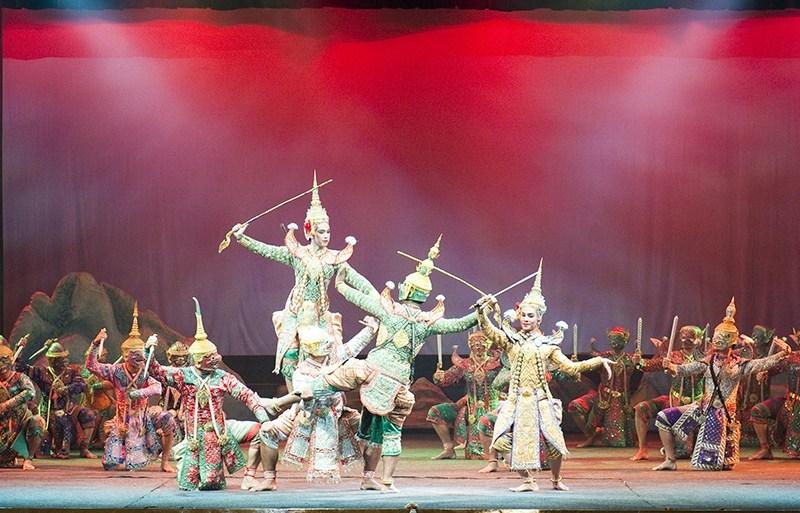 納入聯合國教科文組織名錄的箜劇表演已加入大皇宮的門票中