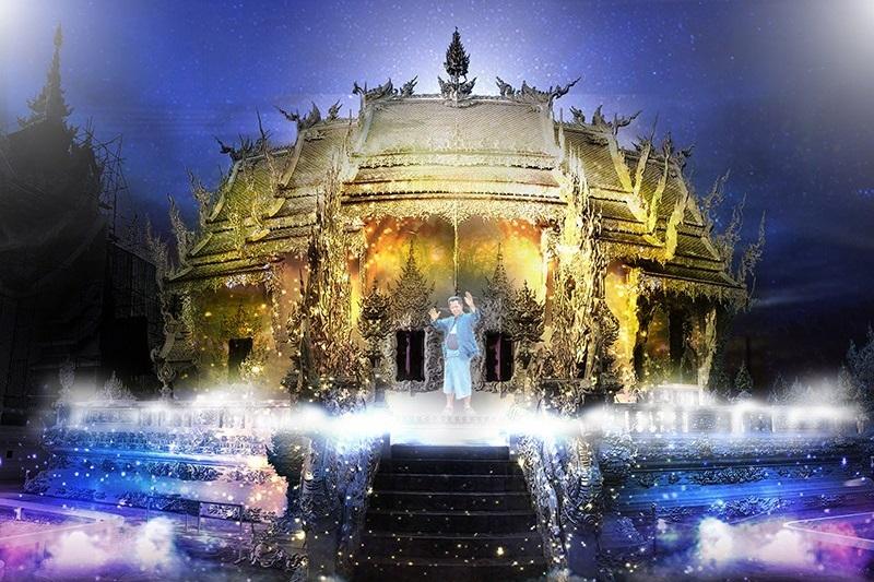 清萊龍坤寺(白廟)燈光節將於今年11月登場