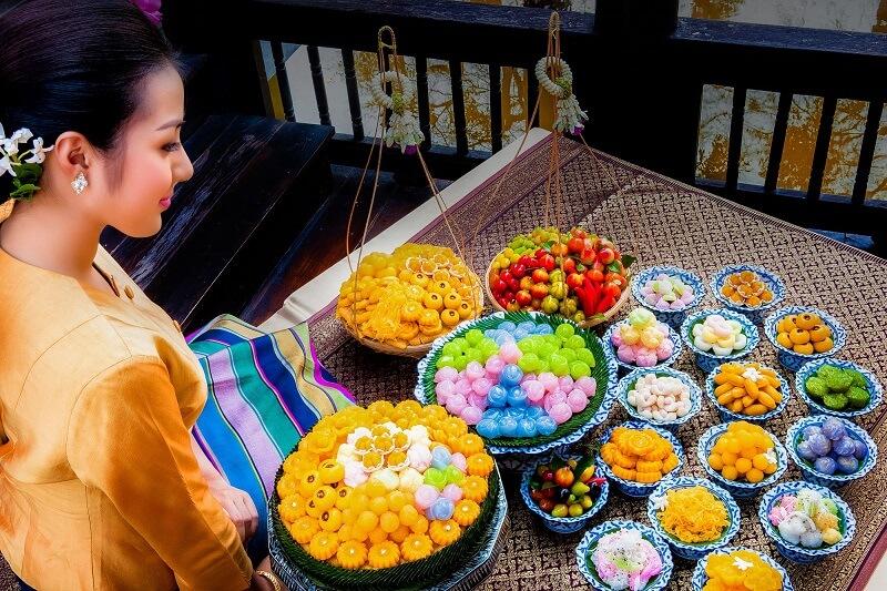 正宗泰國皇家點心及美食推薦路線