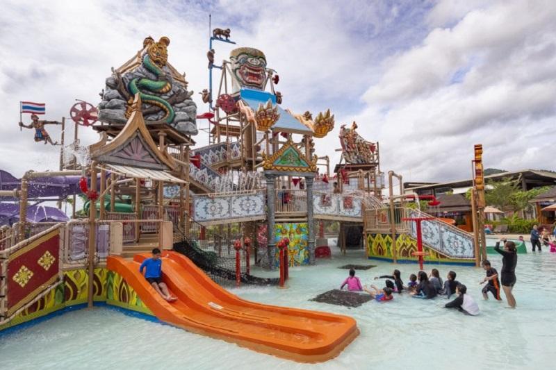 芭達雅羅摩衍那水上公園歡慶榮獲亞洲第二名和世界第十二名之肯定