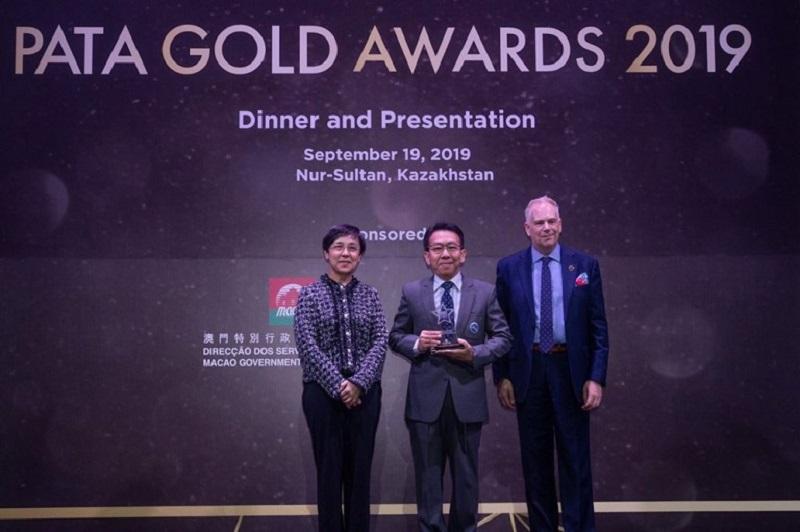 泰國觀光局贏得另一個亞太旅行協會PATA金獎榮耀
