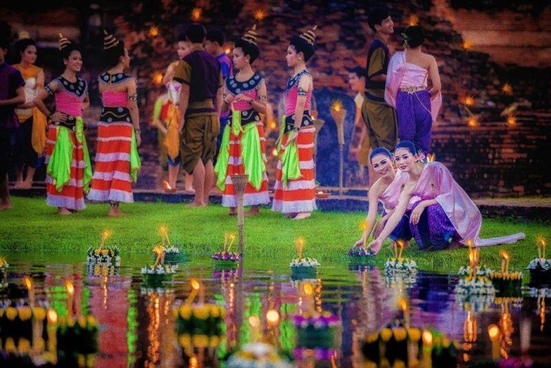 泰國觀光局重點推廣的曼谷和六個獨特地區之2019年水燈節活動
