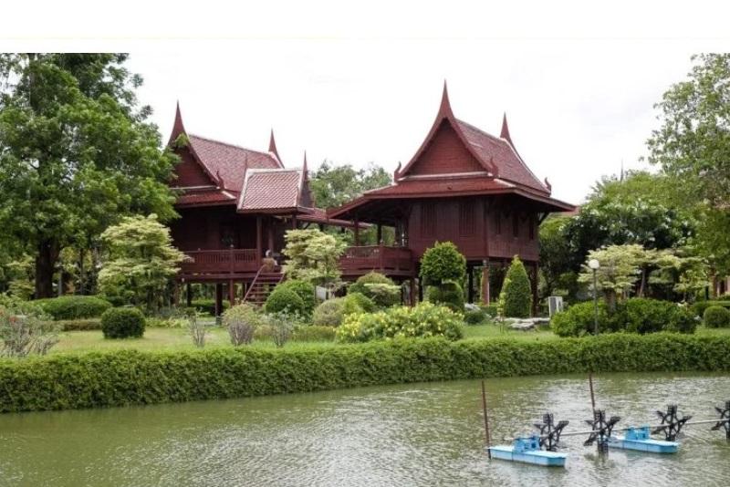 曼谷附近以在地泰式社區為基礎的觀光景點