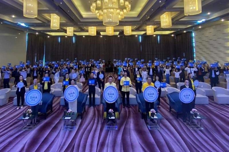 春汶里府超過211家觀光企業獲頒'驚艷泰國安全與健康管理令程序SHA認證