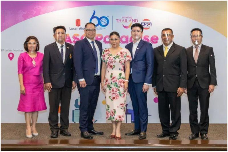 "TAT & Locanation推出"" ASQ Paradise""防疫旅館網站 提供旅客在泰國隔離和檢疫的便利"